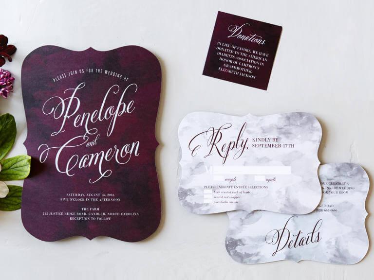 invitaciones de boda más coloridas