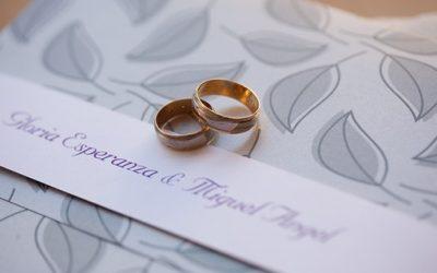 La importancia de las tarjetas de boda en su ceremonia