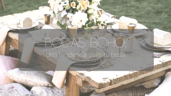 Bodas boho: una tendencia para tu boda