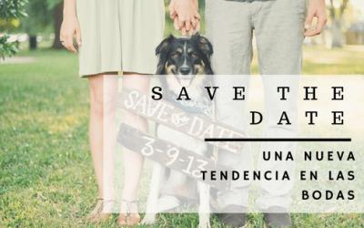 Save the date: una nueva tendencia en las bodas