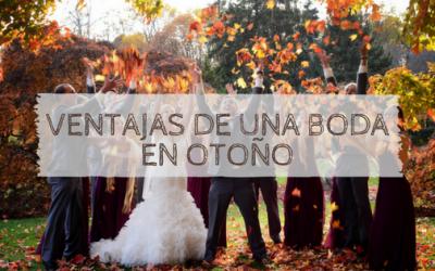 Ventajas de una boda en otoño