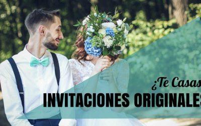 Ideas para invitaciones de boda sorprendentes