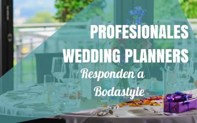 Los mejores Profesionales Wedding Planners responden