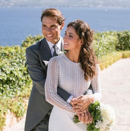La boda de Rafa Nadal y Mery Perelló
