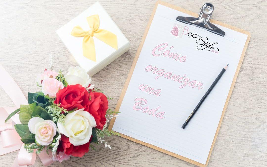 Cómo organizar una boda