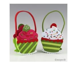 Cesta cupcake