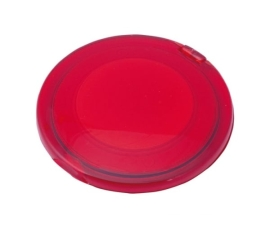 Espejo doble plegable rojo