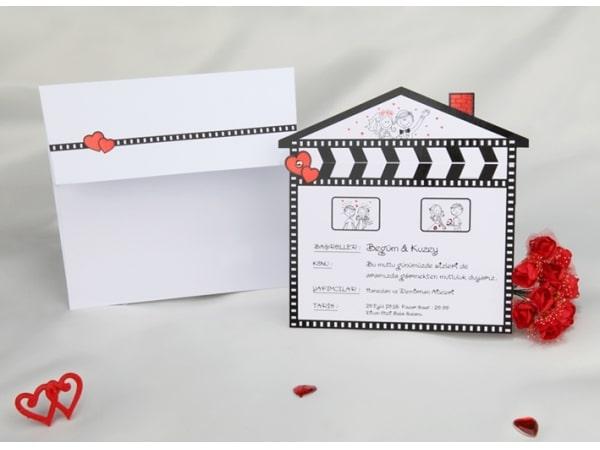 Invitación de boda comico