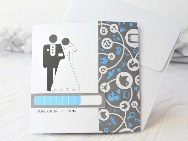 Invitación boda loading