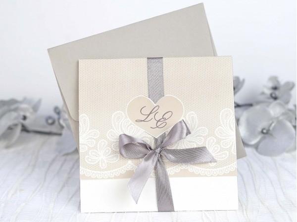 Invitación de boda fresca