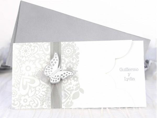 invitacin de boda mariposa
