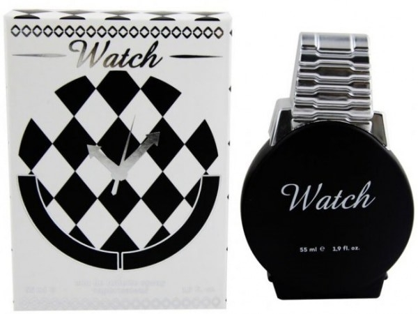 Perfume hombre reloj