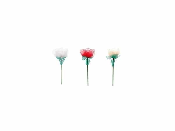 Flor para alfileres clavel