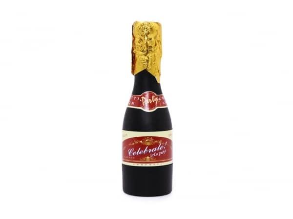 Cañón espirales en forma botella champagne