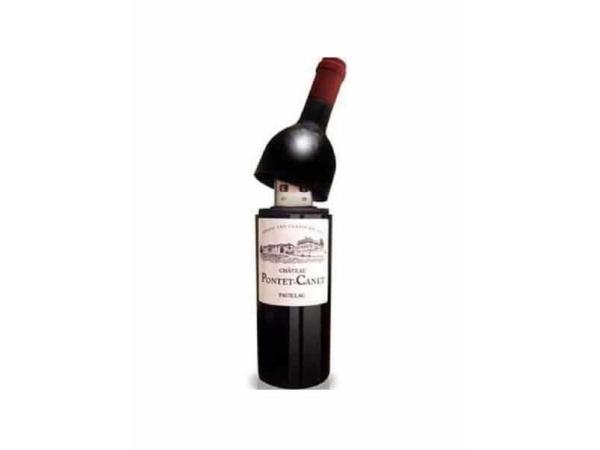 Memoria usb botella vino 2 gb