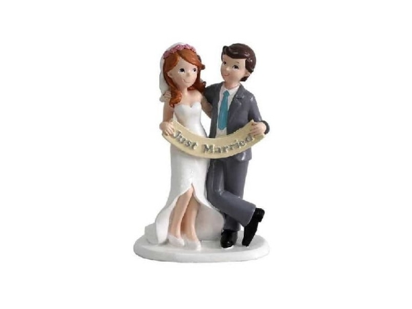 Figura pastel 'Just Married'