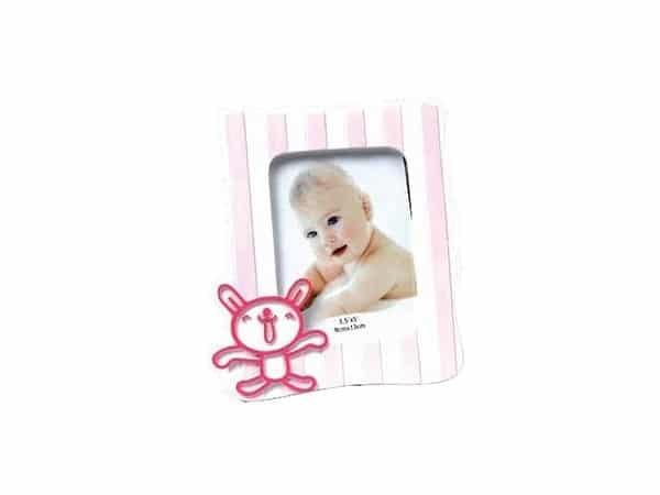 Portafotos juguetón rosa L