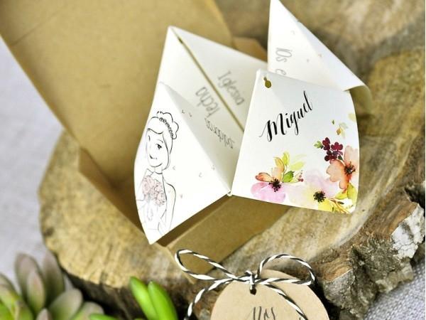 Invitación de boda comecocos *ATENCIÓN: LEER DESCRIPCIÓN*
