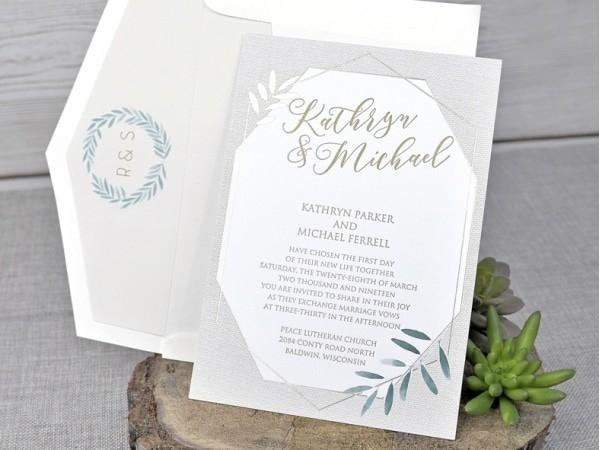 Invitación de boda ideal
