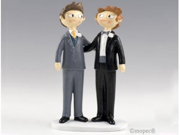 Detalle de boda figura pastel boy&fun