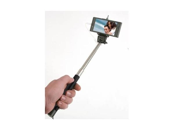 Palo selfie con interruptor