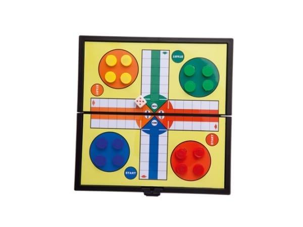 Juego magnético: parchís, damas o tres en raya