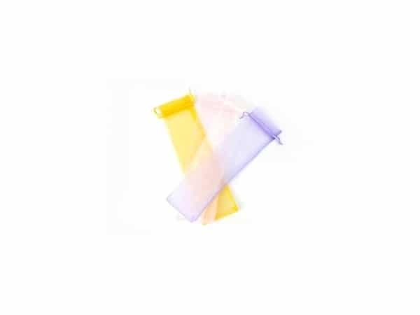 Bolsa organza para abanicos 7 X 30 cm