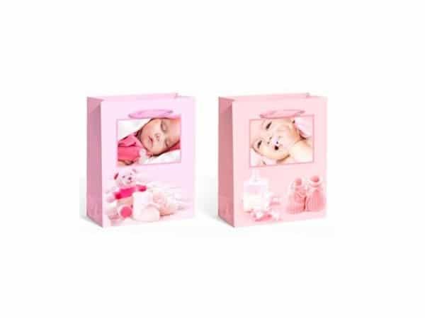 Bolsa papel baby rosa