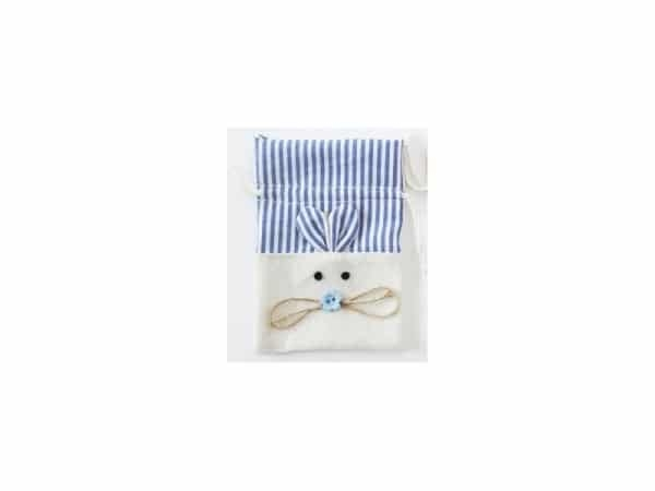 Bolsa yute ratón azul