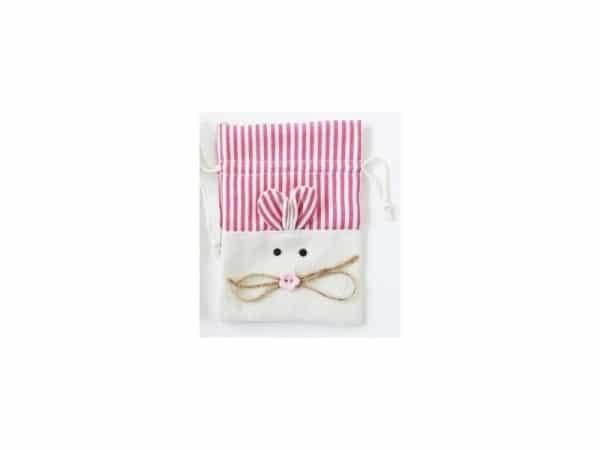 Bolsa yute ratón rosa