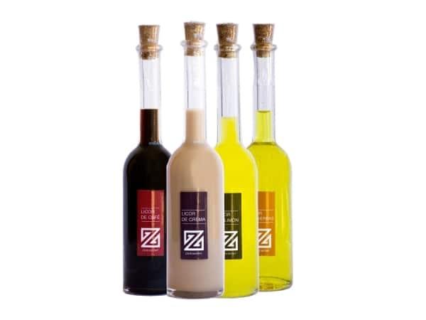 Botella de licor Sorgente (20 cm. - 100 ml.)