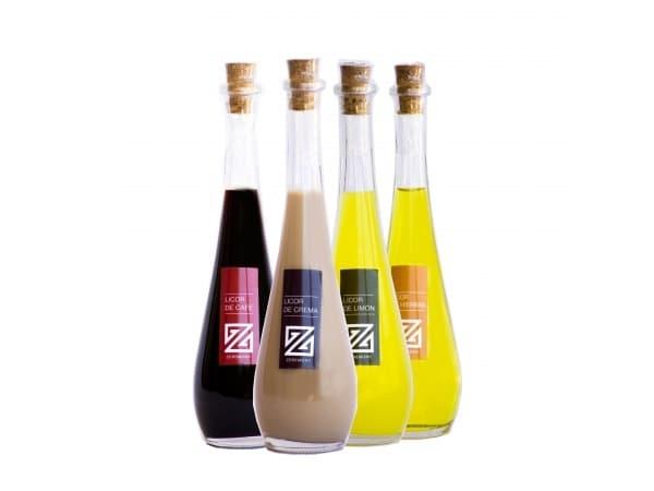 Botella de licor Raquel (19'5 cm. - 100 ml.)