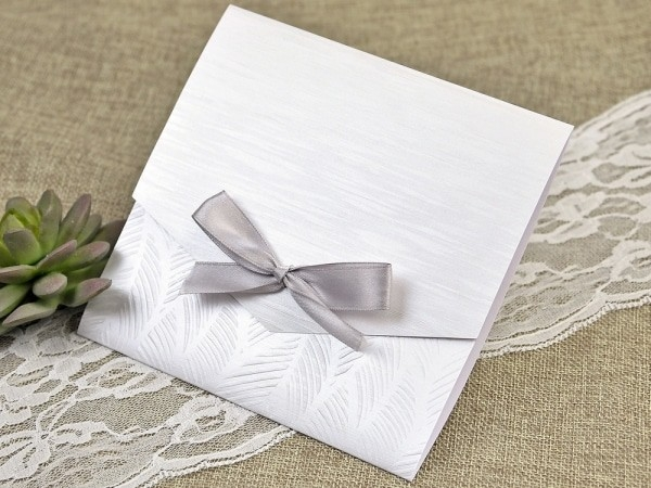 Invitación de boda única