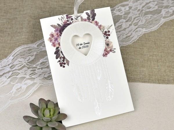 Invitación de boda especial