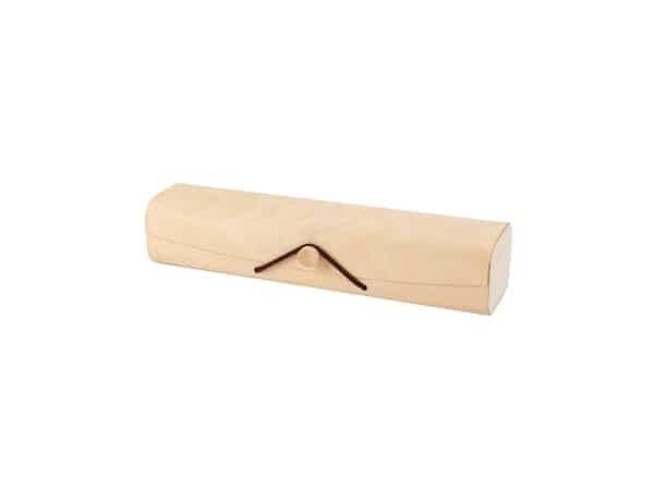 Estuche de bambú kraft rectangular