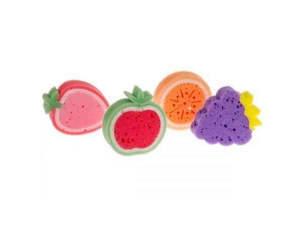 Detalle de boda 24 Esponjas Baño forma Frutas