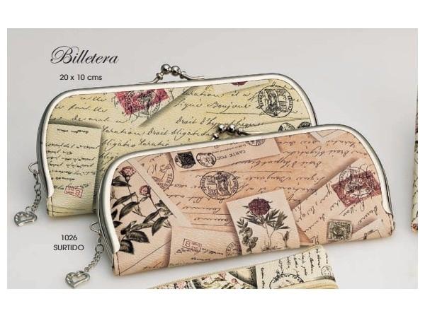 Detalle de boda billetera elegante postales con colgante