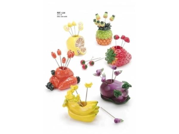 Frutas 4 pinchos