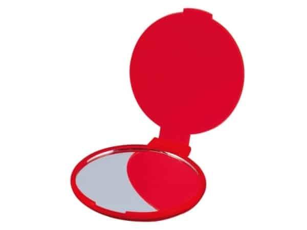 Espejito plegable rojo