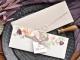 Invitación de boda vintage con sello