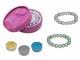 Pulsera con perlas + caja con lazo