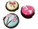 Detalle de boda brillo labial muffins