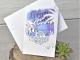 Invitación de boda corte láser isla