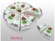 Set 10 cajas porción pastelito + display