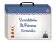Libro albúm comunión niño en caja regalo AZUL