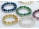 Pulsera piedras y cristales con cajita regalo surtida
