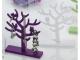 Árbol portajoyas con caja y lazo surtido 17 cm